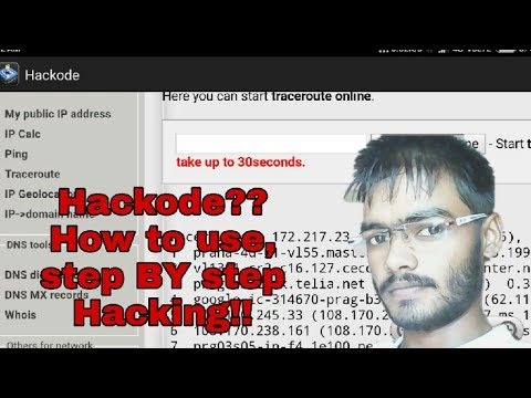Top 1 best Hacking apps for android 2017   😎😎- How to use Hackode-step by step- Hacking