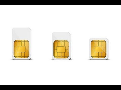 How to cut your Standard SIM Card to Micro or Nano in Easy Steps