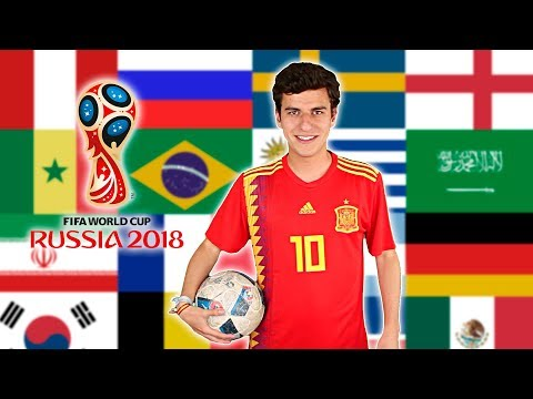SPEAKING IN 32 LANGUAGES | 2018 FIFA World Cup Edition Russia Language Challenge