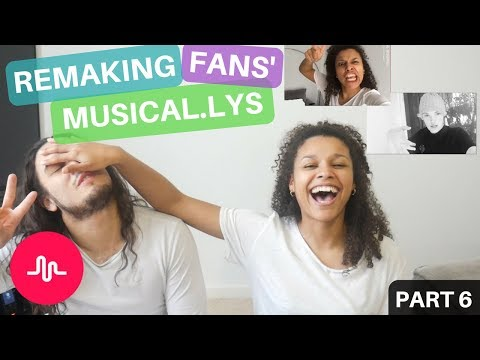 Remaking YOUR Musicallys for #ChallengeSherice6