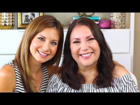 Mature Skin Makeup Tutorial   Makeup on my Mom   Makeup in your 50s