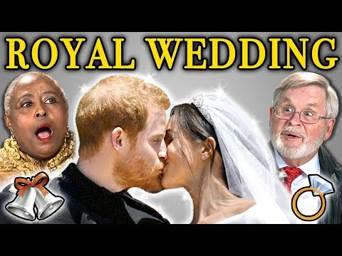 ELDERS REACT TO ROYAL WEDDING (Prince Harry and Meghan Markle)