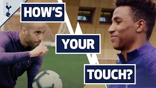 HIGH-SPEED BALL CANNON | HOW'S YOUR TOUCH? | Lucas Moura v Gedson Fernandes