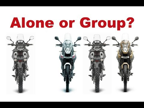 Long Motorcycle Trip - Alone or in a group?