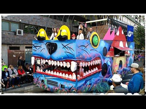 6 Hour Long Carnival Parade?! Carnaval S/C Tenerife 2018 // Phone Diary 019