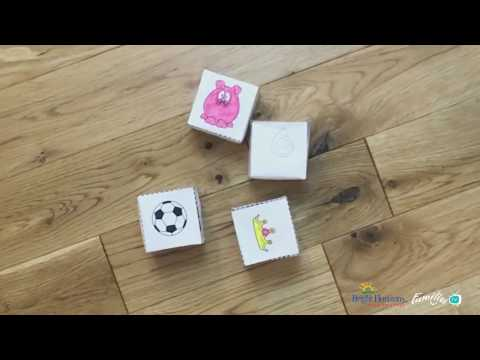 How to make story cubes