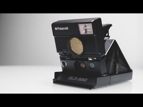 Polaroid SLR 680 Instant Film Camera Unboxing