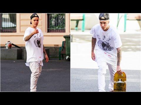 Justin Bieber Skateboarding (All)