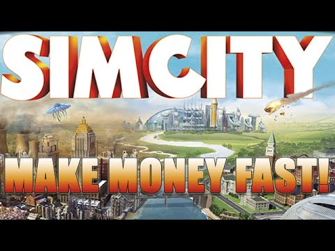 SimCity Tutorial - Fastest/Easiest Way To Make Money
