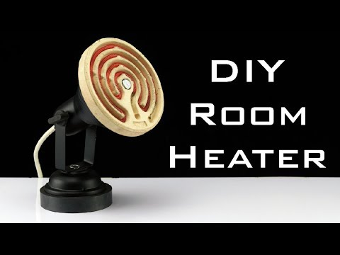 How to Make Room Heater at Home - Homemade Electric Heater