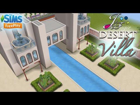 The Sims FreePlay 🐪 🌵| DESERT VILLA | 🌵🐫
