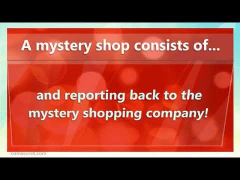 Mystery Shopper Jobs -  Get Paid To Shop