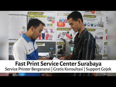 Fast Print Service Center Surabaya - Service Printer Bergaransi | Gratis Konsultasi | Support Gojek