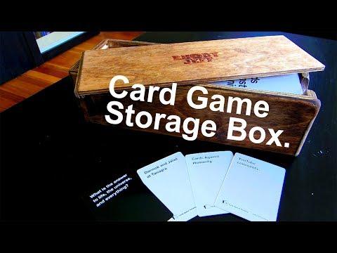 Build: A Card Game Storage Box