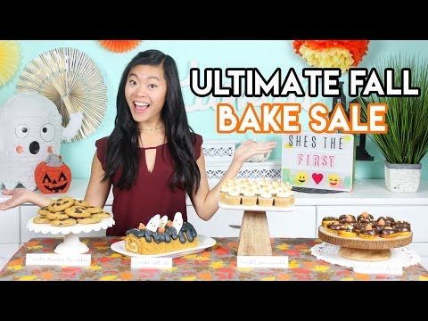 How to Create the ULTIMATE Fall Bake Sale Donuts, Cupcakes, and Cookies!