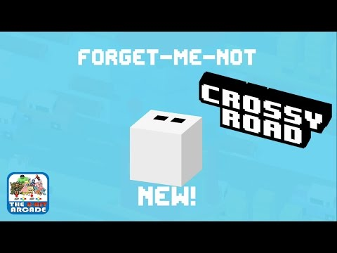 Crossy Road - What is a Forget-Me-Not (iPad Gameplay, Playthrough)