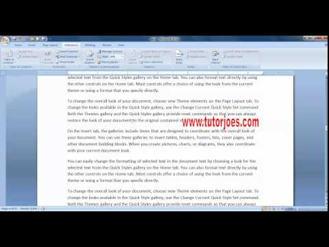 Footnote & Endnote in Microsoft Word