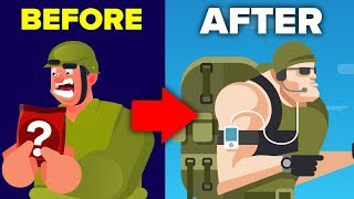 Mandatory Super Soldier Diet For US Military Troops