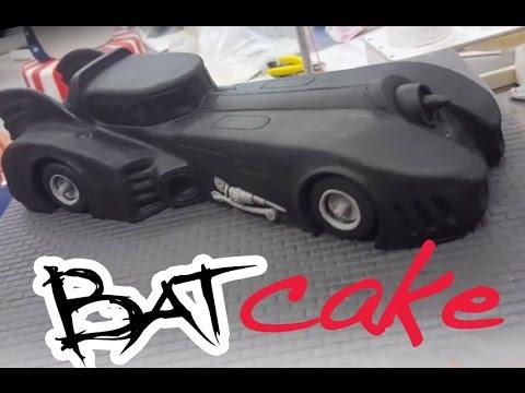 Batman batmobile cake