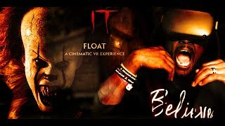 PENNYWISE THE DANCING CLOWN IS HERE || IT: FLOAT - A Cinematic VR Experience REACTION (HTC Vive)