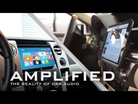 Microsoft Surface Installed into Ford F150, iPad Mini Lexus ES400H dash continued - Amplified #84