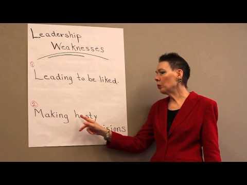 Leadership Weakness
