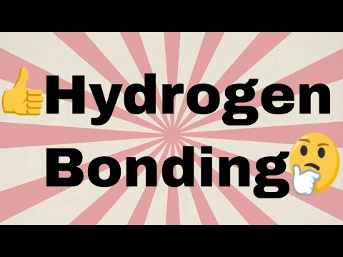 Hydrogen bonding{FULL CONCEPT} |definition , types and formation of hydrogen bonding| CHEMISTRY
