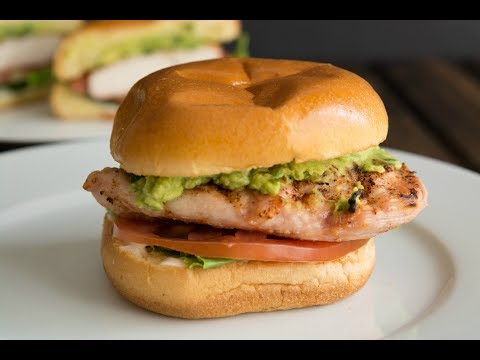 Grilled Chicken Sandwich Recipe | How To Make A Grilled Chicken Sandwich | SyS