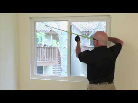 How To Measure Horizontal Blinds - HD Supply FM