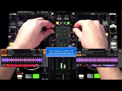 How to Mix Psytrance: 4 Basic Transitions - DJ Tutorial
