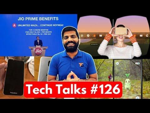 Tech Talks #126 - India 5G, Internet Bug, Nvidia 1080Ti, 10million Google Cardboard