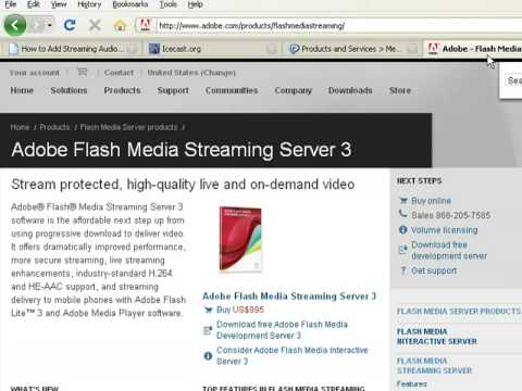 How to Create Web Pages Using HTML : How to Add Streaming Audio to a Web Page