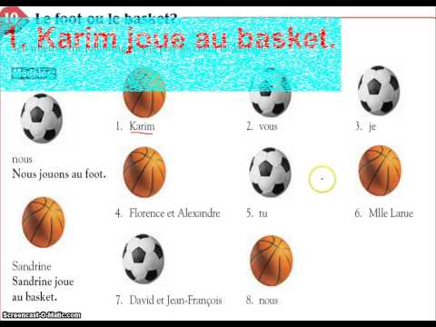 french present tense of verbs ending in ER