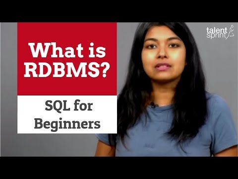 What is RDBMS? | SQL for Beginners