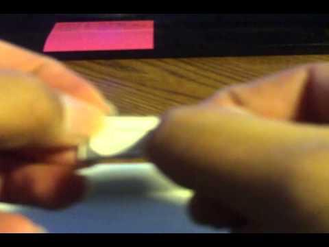 iPhone 4s micro Sim card install