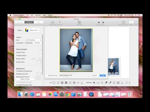 Create a Contact Sheet using TurboCollage for Mac