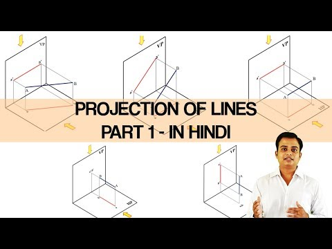 Introduction to Projection of Lines Part1_Hindi