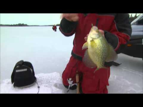 Deep Basin Ice Crappie Hunt