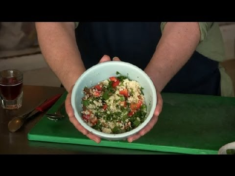 Vegetarian Couscous Salad : Middle Eastern & Mediterranean Salads