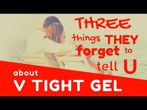 V Tight Gel Review: Hidden Truth -  What You Should Know Before You Buy V Tight Gel