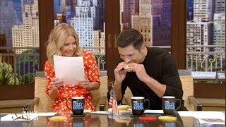 Mark Consuelos Tries a Peanut Butter and Mayonnaise Sandwich