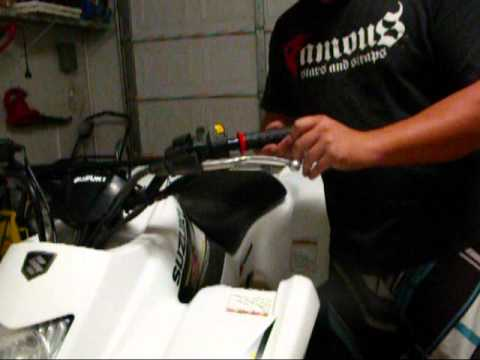 How to change your ATV and motorcycle grips DIY