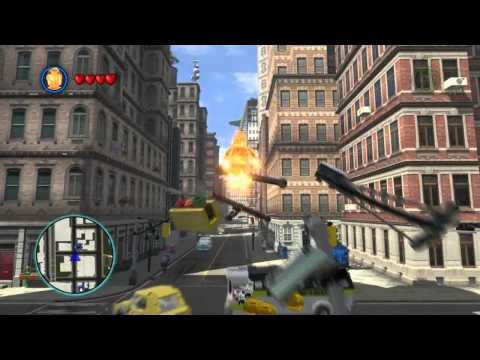 LEGO Marvel Super Heroes - Fantastic Four Free Roam Gameplay