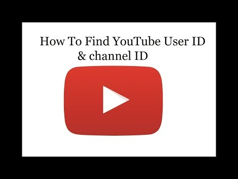 How to find channel id
