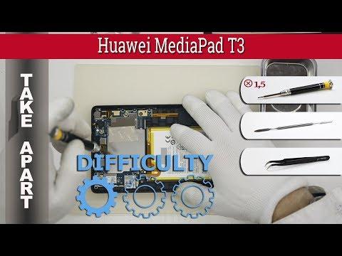 How to disassemble 📱 Huawei MediaPad T3 (bg2-w09) Take