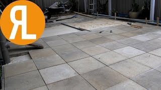 How To Lay Pavers Back Yard Renovation Part 5 1