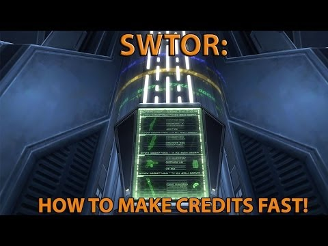 SWTOR: How To Make Credits Fast! (As A Lower Level)