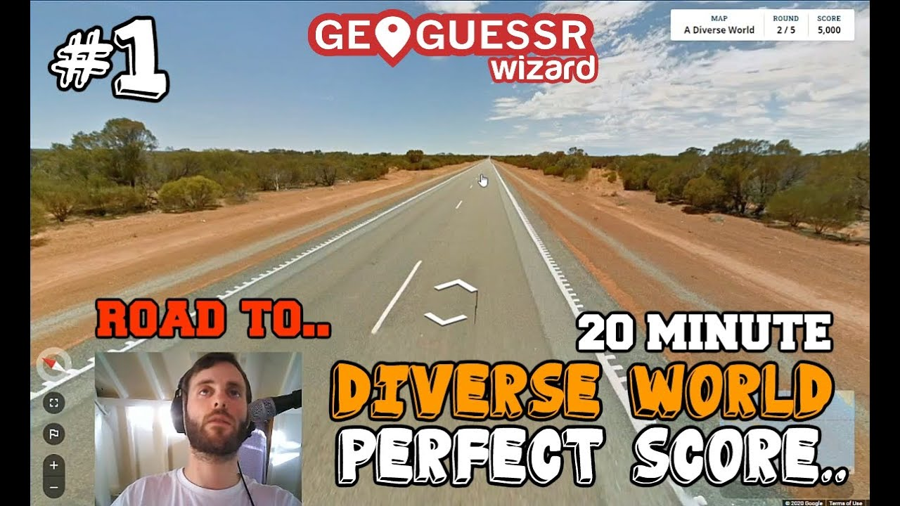My first attempt at a sub 20 minute diverse world perfect score..