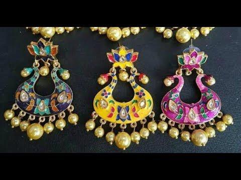 Beautiful Meenakari Earring Designs