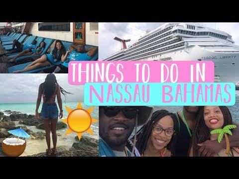 DAY 3: NASSAU BAHAMAS CARNIVAL CRUISE| CARNIVAL CRUISE TRAVEL VLOG| FREE THINGS TO DO IN NASSAU